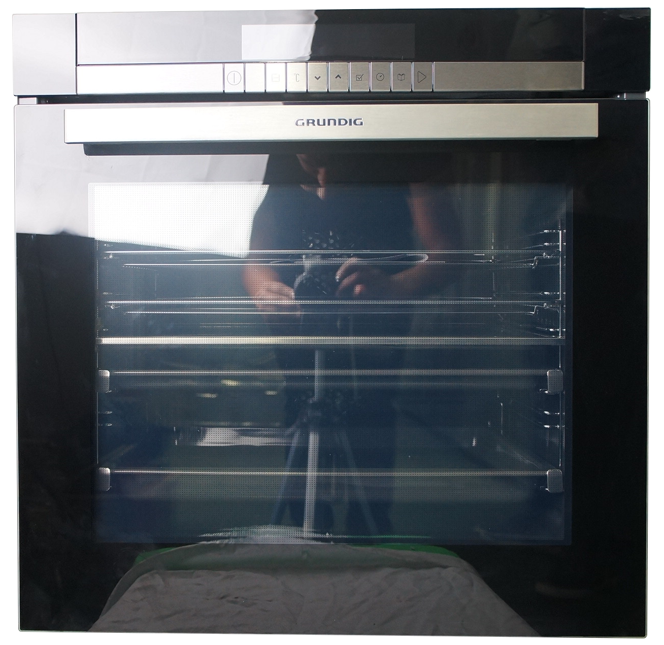 GRUNDIG 60CM  DIVID AND COOK OVEN